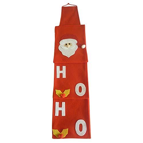 Fanville toiletpapier houder kerstman wc-papier hoezen sets kerst vakantie wc-papier houders badkamer papier zak zak Xmas huisdecoratie