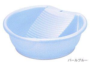Japanese Laundry Wash Basin w/ Washboard 1690 by JapanBargain