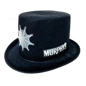 Unbekannt Murphys Bier St.Patricks Zylinder Hut - schwarz Party Festival Karneval Fasching