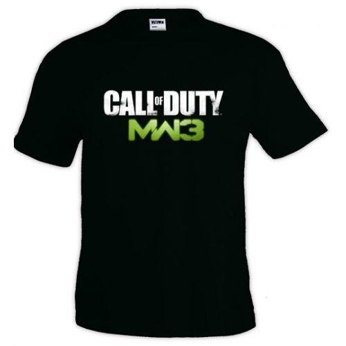 Mx Games Camiseta Call of Duty Modern Warfare 3 Logo Classic Manga...