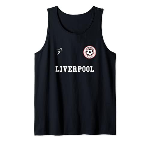 Balón de fútbol del Liverpool Camiseta sin Mangas
