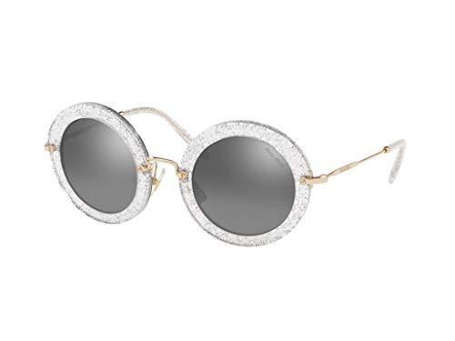 Miu Miu sonnenbrille MU 13NS SPECIAL PROJECT 1481B0 silber grau größe 49 mm, frau