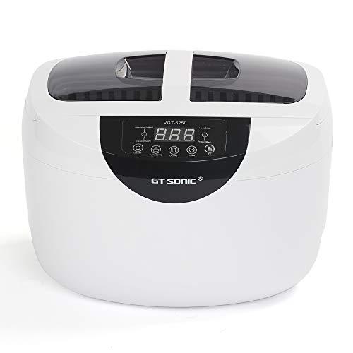 GT SONIC 眼鏡 超音波洗浄機 メガネ 洗浄機 超音波 クリーナー 2.5l 60w 腕時計 超音波 洗浄 時計 超音波洗浄器 入れ歯 小型 業務用 超音波 洗浄機
