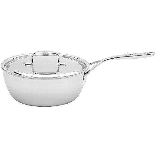 Demeyere 5-Plus Stainless Steel 3.5-qt Saucier