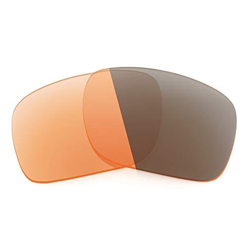 Revant Lentes de Repuesto Compatibles con Gafas de Sol Costa Diego, No Polarizados, Naranja Fotocromático