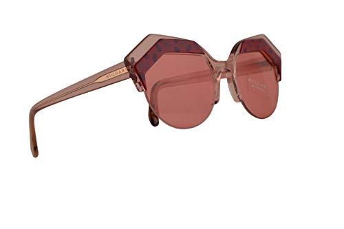 Bulgari BV8203 gafas de sol w/rosa lente 53mm 544584 BV 8203 mujer Púrpura Rosa Fucsia Grande
