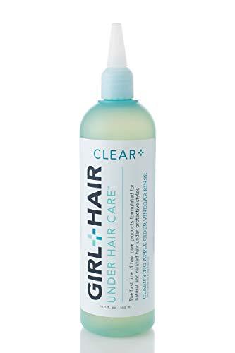 Girl and Hair Apple Cider Vinegar Hair Rinse
