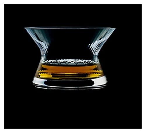 chenchen Gafas de Moda de Whisky, Whisky escocés, Bourbon, cócteles, Ron, Gafas de Whisky duraderas (Color : D)