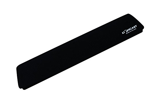 Lioncast Handballenunterlage für Tastatur, Schaumstoff schwarz