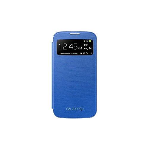 Samsung EF-CI950BCEGWW S View Cover, Copertura per Samsung Galaxy S4, Azzurro (Light blue)
