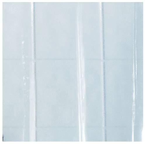 Spirella Kollektion Duschvorhang ohne Arme, 200 x 170 cm, transparent