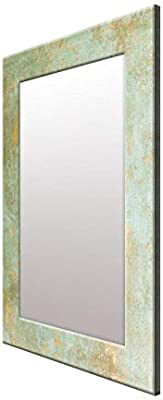999Store Printed Grey Marble Pattern Mirror