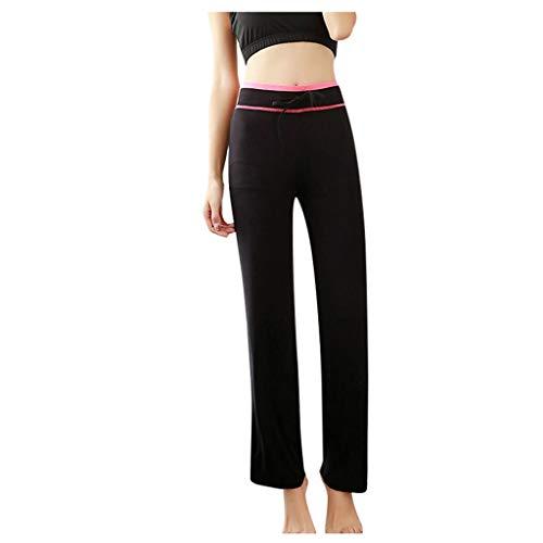 Pantalon de Yoga Femme Pantalon de Mode à Taille Haute Humide Pantalons de Sport