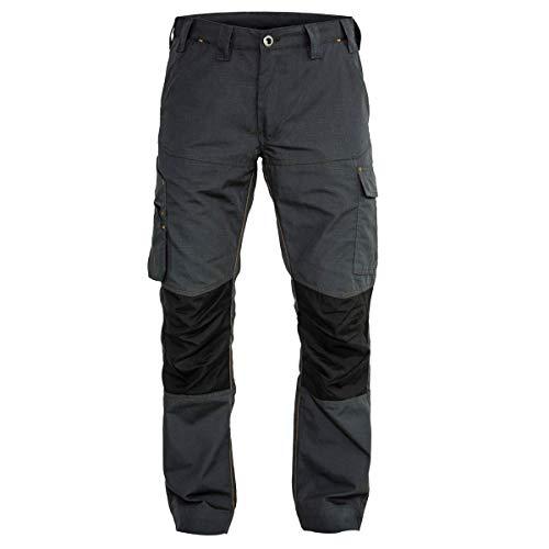 FORSBERG Buxa Arbeitshose mit Cordura®, Farbe:anthrazit/schwarz, Größe:52