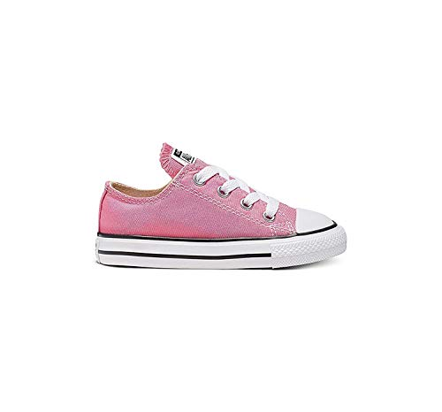 Converse Unisex-Kinder CTAS Season Ox Sneaker, Rosa (Pink), 26 EU