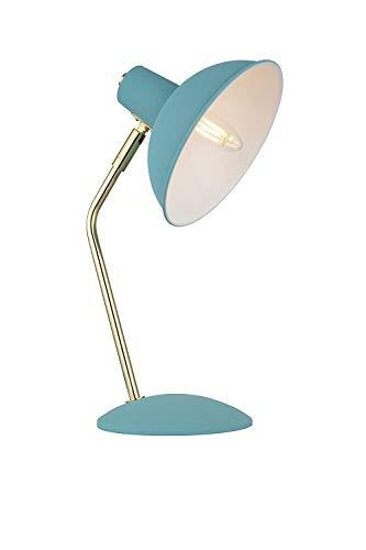 ZPP Lámpara de escritorio de lectura, dormitorio estudiantil Lámpara de mesa-Lámpara de metal moderna Pantalla de lámpara de lámpara Lámpara de trabajo Lámpara de noche moderna moderna Lámpara de mes