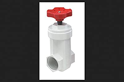 """King Gate Valve 1-1/4 """" Pvc from Nds"""