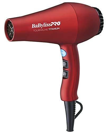 BaBylissPRO BTT5585 Tourmaline Titanium 3000 Hair Dryer, 1 ct.