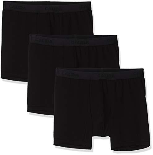 CALIDA Herren Natural Benefit Boxershorts, Schwarz (schwarz 992), X-Large (Herstellergröße:XL)