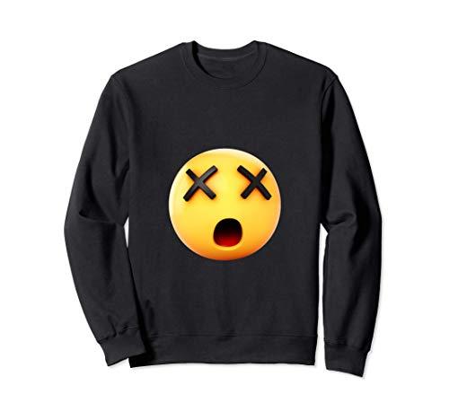 graciosas sin ojos x emoji caras emojis regalo emoticonos Sudadera