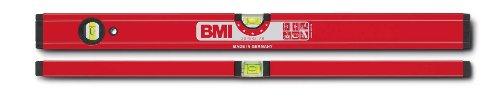 BMI 699080A Wasserwaage Superstar, Länge 80 cm, pulverbeschichtet
