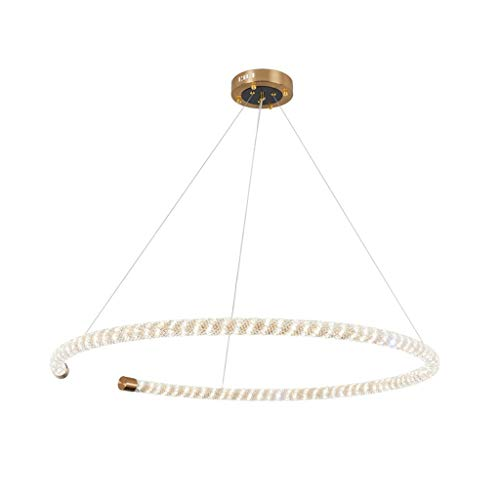 Spin @ kroonluchter kristal kroonluchter ring ceiling kroonluchter drie kleuren in de woonkamer en slaapkamer [energie-efficiëntieklasse A++]