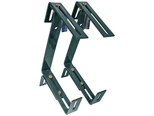 HelpAccess® Juego de 2 soportes para jardineras sin taladrar, soporte para jardineras de balcón,...