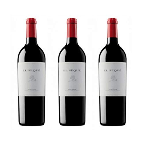 El sequé Vino tinto  - 3 botellas x 750ml - total: 2250 ml