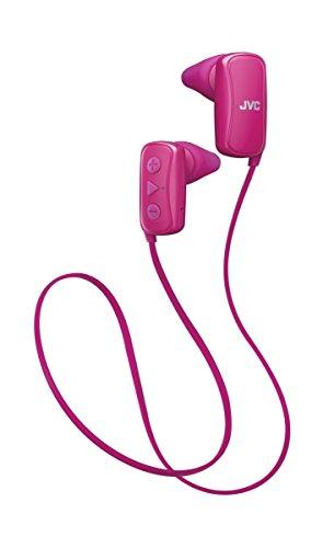 JVC HA-F250BT Bluetooth Sport In-Ear Kopfhörer für kabellosen Musikgenuss, pink