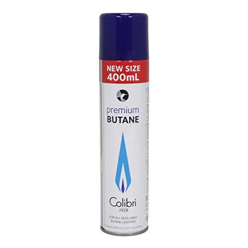 Colibri GAZ400 premium BUTANE für alle nachfüllbaren Butane Feuerzeuge 400ml