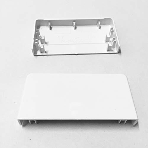 SCOS Smartcosat Brüstungskanal und Zubehör L x B x H 2000 x 100 x 50 mm Reinweiß (Endkappe)