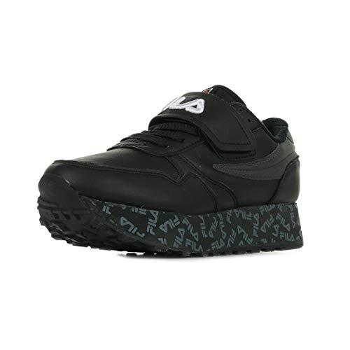 Zapatos Deportivos de Mujer FILA Orbit Zeppa Strap WMN en Cuero Negro 1010803-25Y