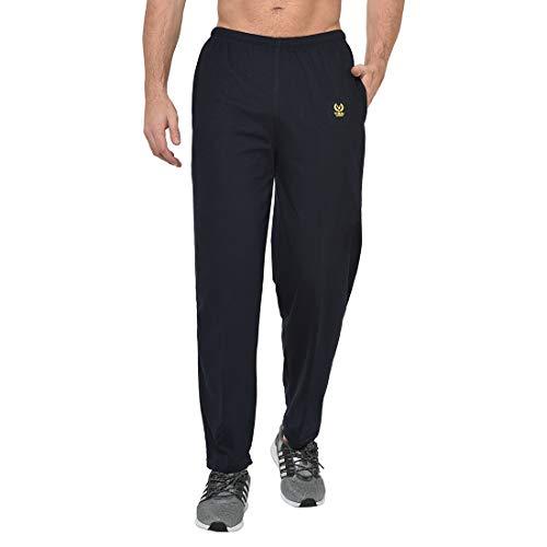 VIMAL JONNEY Men's Slim Fit Track pants(Pack of 2)