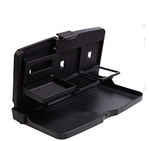 Qazse Auto-rek voor de achterkant, multifunctioneel, voor auto, tafel, auto, drank, dienblad, grote plaat