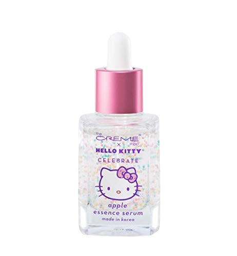 The Crème Shop x Hello Kitty - Brightening & Tightening Vitamin E Face Serum - Korean Skin Care with Apple & Ceramides, Ultra Hydration, Barriers, Plump Complexion, Glowing, Fine Lines & Wrinkles