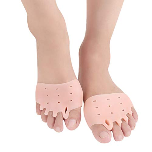 SUPVOX Séparateur d'orteils soins de pieds orteils correcteurs écarteurs traitement pour oignons marteau orteils hallux valgus