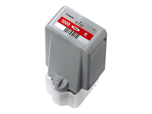 Canon Tintenpatronen PFI-1000 R rot - 80 ml ORIGINAL für imagePROGRAF PRO-1000