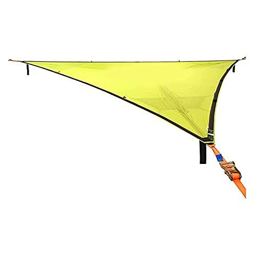 Tuozhan Hamaca multipersona con diseño de 3 puntos, portátil, multifuncional, triángulo aéreo para mochileros, viajes, playa, patio, senderismo