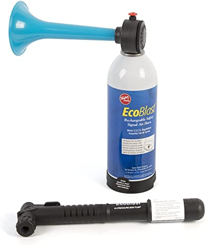 Taylor Made Products 618 Eco Blast Rechargeable Boat Air Horn and Mini Pump Kit