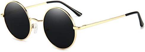 Vintage Round Sunglasses John Lennon Style Circle Hippie Polarized Sunglasses for Men Women product image