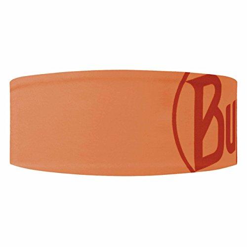 Buff Bandeau Court réfléchissant Logo Orange Fluor, One Size