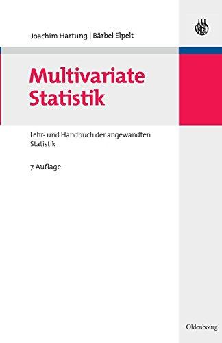 Multivariate Statistik: Lehr- und Handbuch der angewandten Statistik