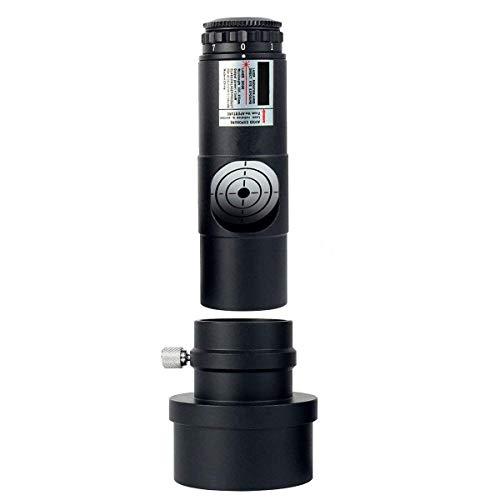 lylff Colimador para telescopios Newton 19001000Laser 1,25para Ajustar de Espejo telescopios 7Niveles de Intensidad, Incluye batería