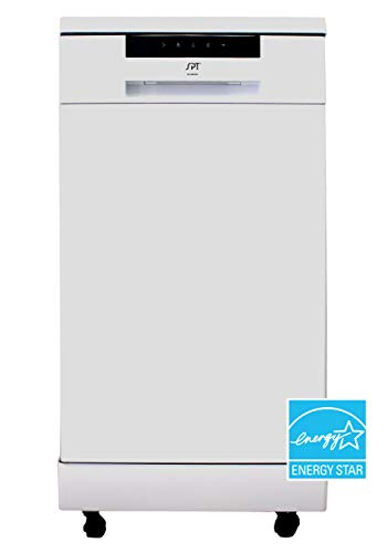 SD-9263W: 18″ Energy Star Portable Dishwasher – White