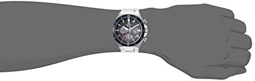 Casio Men's 'Edifice' Quartz Stainless Steel Casual Watch, Color:Silver-Toned (Model:...