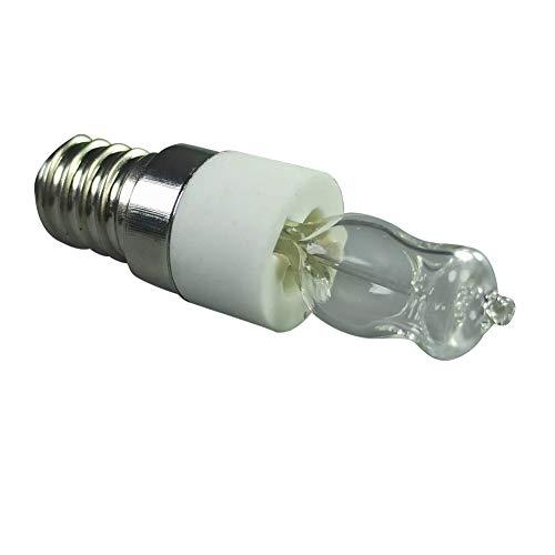 Stronrive 2 Stück E14 Halogen Backofenlampe Ofenlampe 220V 50W Oven Lampe Hitzebeständige Halogen Glühbirnen für Kühlschränke Backofen Ventilatoren, bis 500 Grad