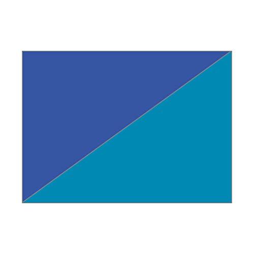 MarpaJansen Faltblätter-Packung Duo-Color - Origamipapier - (15 x 15 cm, 60 Blatt, 80 g/m²) - blau