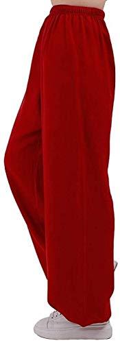 HLZY Uniformes Tradicionales Chinos de Tai Chi Kung Fu Tai Chi Pantalones Entrenamiento Pantalones Largos Kung Fu Ropa Wushu Suit Qi Gong Artes Marciales ala Chun Shaolin Kung Fu