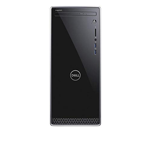 Dell Inspiron 3670 Desktop, 9th Gen Intel i5-9400, 12GB RAM| 128GB SSD+ 1TB HDD| DVD R/W| Wireless + Bluetooth, HDMI | VGA, SD Card Reader, Windows 10 (Renewed)