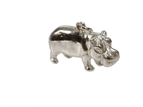 mr.goldis Nilpferd Silber Anhänger 925 Hipo nielpferd flusspferd flußpferd fluspferd 10g Silber